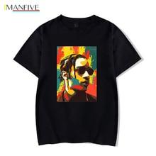 asap rocky t shirt 2019 new high quality brand men t-shirt casual short sleeve fashion print cotton tshirt /woman tees
