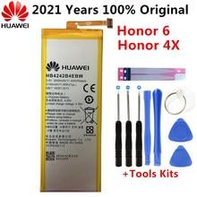Оригинальный Для Huawei батарея для Huawei honor 4X для НУА Вэй слава 6 honor che2-l11 H60-L01 H60-L02 H60-L11 H60-L04 HB4242B4EBW 3000 мА-ч