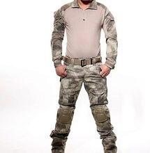 Тактическая форма камуфляжный костюм в стиле милитари боевая