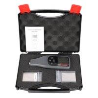 RZ240 Paint Meter Circuit Board Tester Backlight Car Coating Thickness Gauge Mini Portable Film Digital Display Measuring Tool