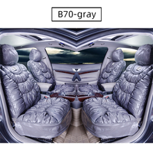 Car-Seat-Cover Complete-Set Interior-Accessories Universal Fashion Fit BOOST PU B70 Most-Vehicles
