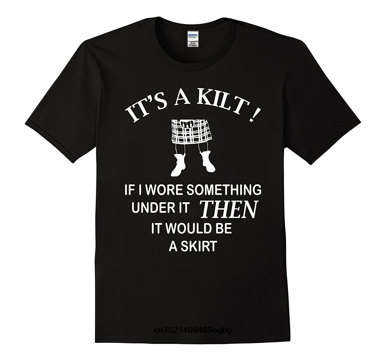 100% Cotton Geek Family Top Tee Kilt Wearer T Shirt Funny Gift Idea For Scottish Men