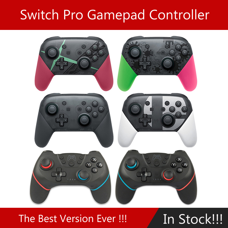 For Switch Pro Bluetooth Wireless Controller For NS Splatoon2 Remote Gamepad For Nintend Switch Console Joystick Switch Pro NS
