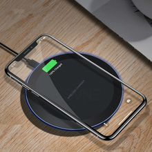 5W Qi Wireless Charger for IPhone X Xs MAX XR 8 Plus Fast Charging for Samsung S8 S9 Plus Note 9 8 USB Phone Charger Pad accezz 3 in 1 10w 7 5w qi fast wireless phone charger for iphone 8 plus x xs max xr for airpods for samsung lighting charging