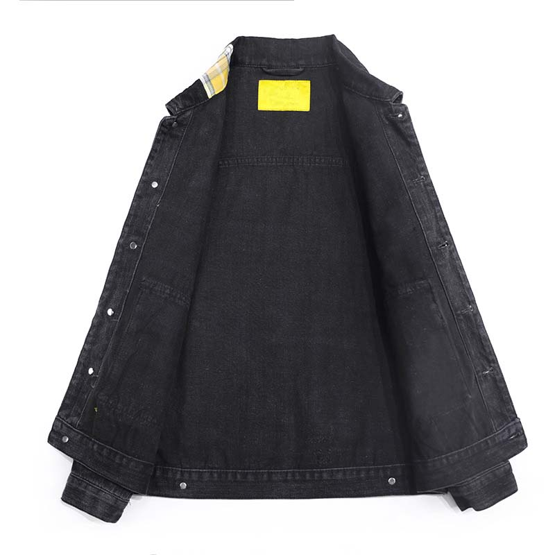 Mcikkny Hip Hop Men`s Fashion Motorcycle Denim Jackets Washed Vintage Patchwork Biker Jeans Jackets Streetwear For Male (1)
