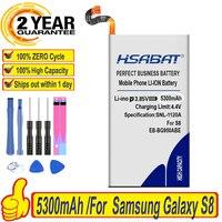 HSABAT EB-BG950ABE 5300mAh batería para Samsung Galaxy S8 G9508 G9500 G950U SM-G9508 SM-G G proyecto Sueño G950A G950T G950 G950F