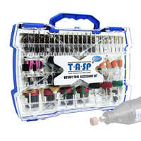 268pcs Mini Drill Bit Set Dremel Style Rotary Tool Accessories Kit Abrasive Grinding Sanding Polishing Cutting Tools  for Diyer