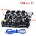 BIGTREETECH SKR mini E3 Control 32Bit con TMC2209 UART para Creality Ender 3/5 TMC2208 3D piezas de la impresora del SKR V1.3 E3 DIP