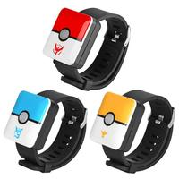 ALLOYSEED Automatic Catch Bluetooth Wristband Watch Game Accessories USB Charging Auto Catch For Pokemon Go Plus Smart Wristband