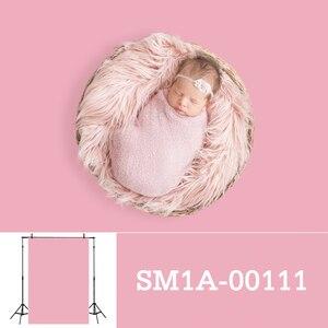 Image 4 - Allenjoy fotografia pano de fundo recém nascido cor sólida retrato do bebê aniversário tiro tamanho pequeno photocall photo studio prop