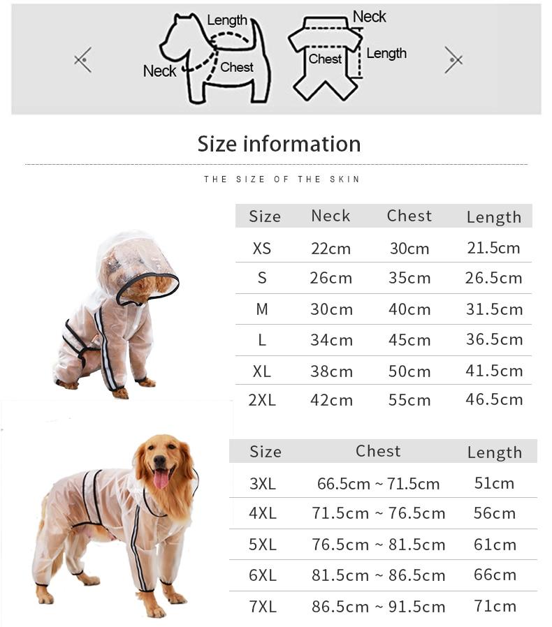 透明雨衣尺寸