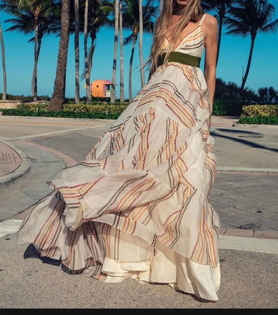 Top QualitY Strap Sexy Dress Vitnage Fashion Long Night CLub V-Neck Celebrity Party Dresses Long Dress