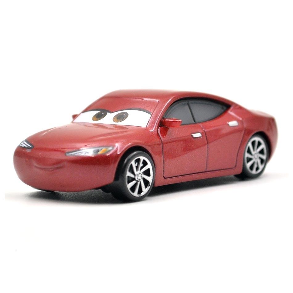 Disney Pixar тачки 3 20 стильные игрушки для детей Молния Маккуин Высокое качество Пластиковые тачки игрушки модели персонажей из мультфильмов рождественские подарки - Цвет: 21