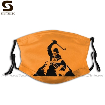 Half Life Mouth Face Mask Half Life Gordon Freeman Fighting Facial Mask Cool Fashion with 2 Filters for Adult helloween mouth face mask gamma arctica priest facial mask fashion cool with 2 filters for adult
