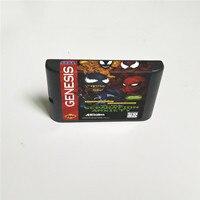 Image 2 - Nhện Áo Game Venomed Seperation Lo Âu Mỹ Bao Có Hộp Bán Lẻ 16 Bit MD Thẻ Trò Chơi Cho Máy Sega megadrive Sáng Thế Ký