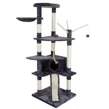 CatS Tree Scratcher Scratching Tower Fun Post Climbing Toy Activity Centre Pet House Cat Furniture C04