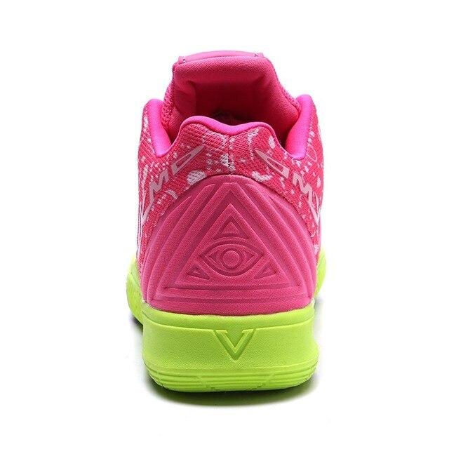 Zapatillas de deporte de alta calidad para hombre y mujer, Zapatos de baloncesto transpirables de malla, deportivas de superestrella para parejas 5