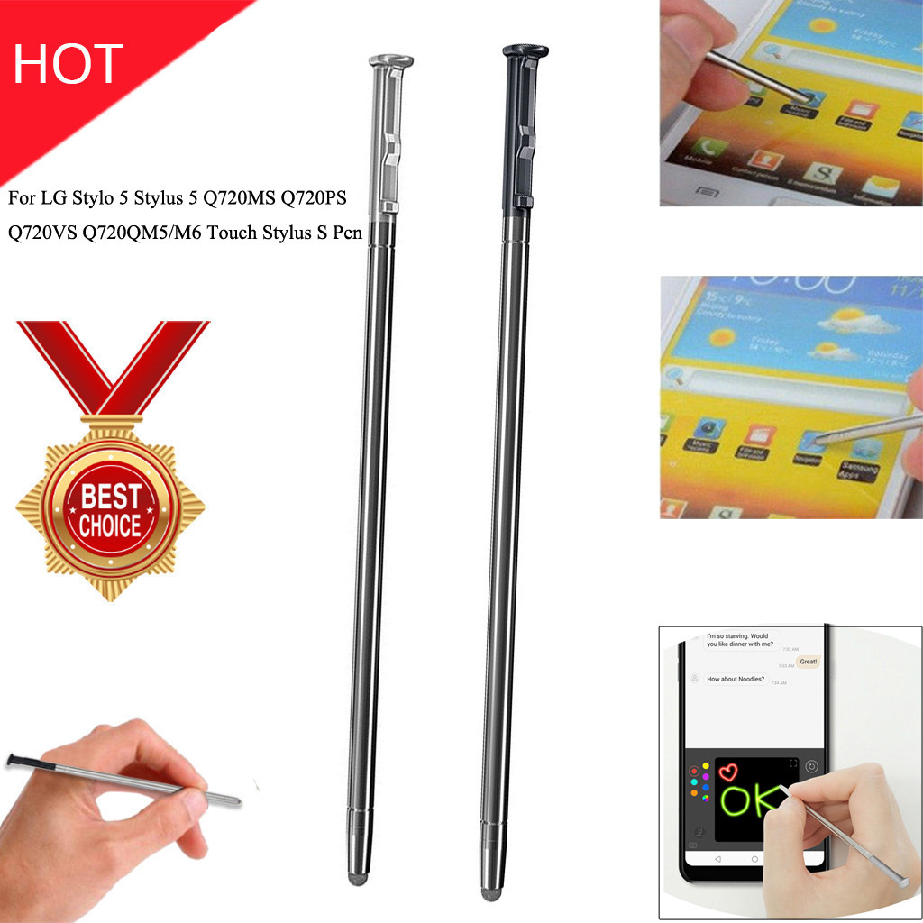 Stylo 5 Stylus Pen Replacement for LG Stylo 5 Silver Stylo 5 Plus