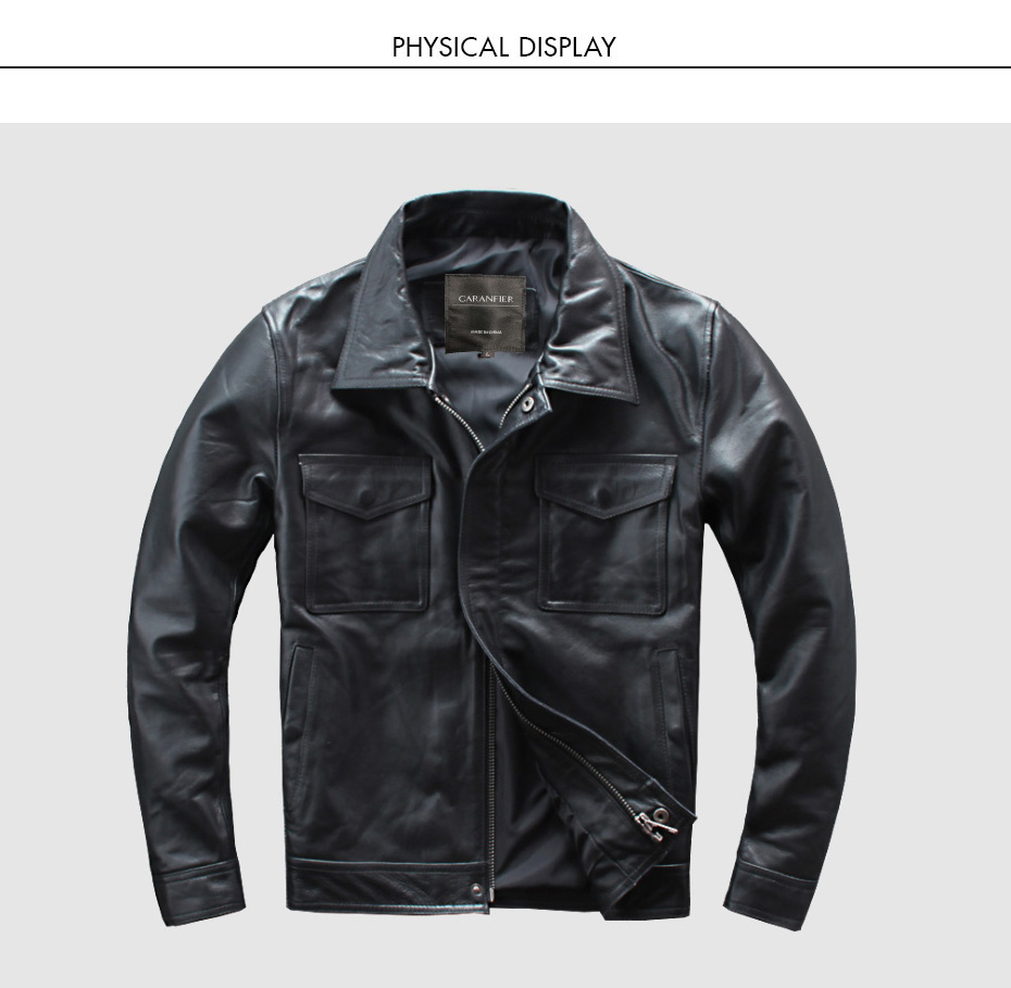 H7dcc4222e3fb43f88e19aee28a0b46f3K CARANFIER DHL Free Shipping Mens 100% Cowhide Genuine Leather Jacket High quality old retro motorcycle leather jacket 3XL