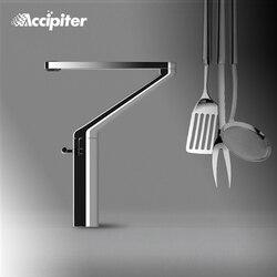 Nuevo diseño, grifo de cocina giratorio de 360 grados. Grifo mezclador para fregadero de cocina hecho en latón, grifo mezclador de cocina