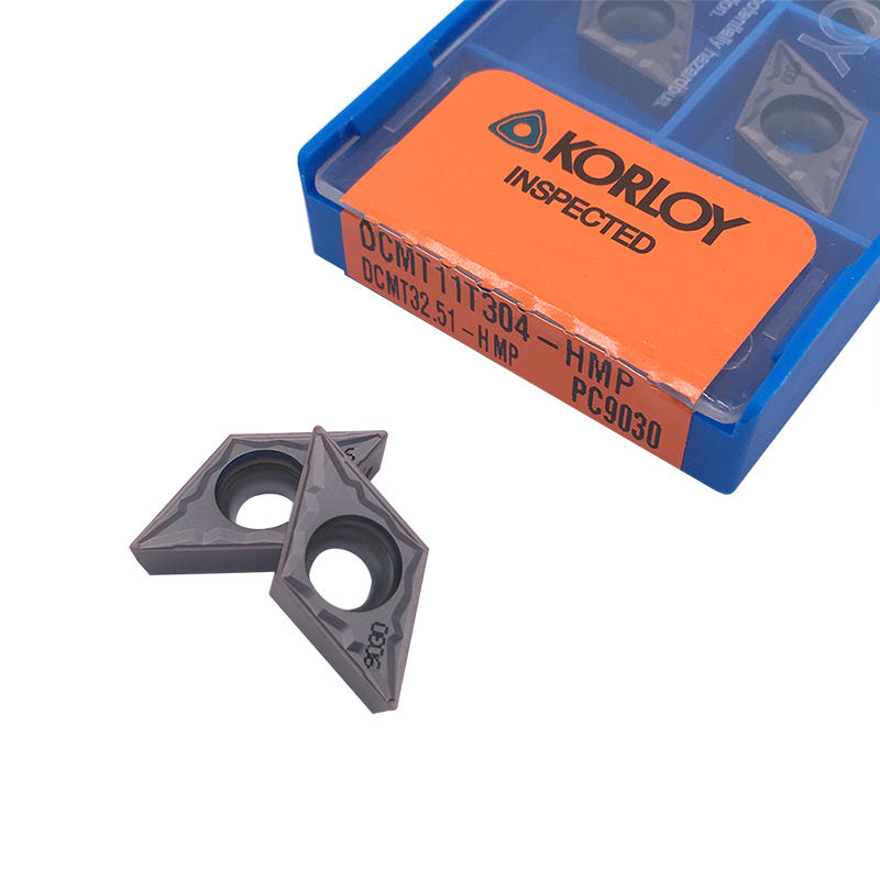 10pcs Blade 100% Original DCMT11T304 HMP PC9030 High Quality Internal Turning Tool Carbide Insert For Steel