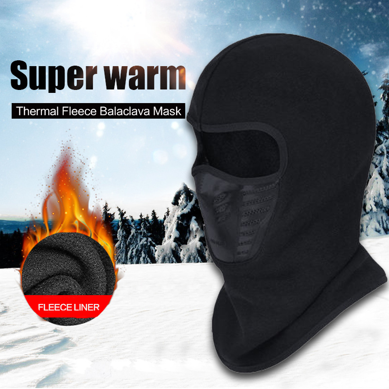Face Mask Outdoor Winter Warm Bicycle Bike Climbing Skiing C…