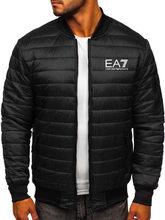 2021 Bomber Fall Winter New Cotton-padded Men's PU Leather Jacket Casual Slim Bomber Jacket Mens Zipper Winter Jackets