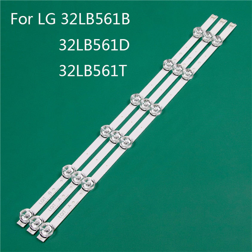 LED TV Illumination Part Replacement For LG 32LB561B-ZC 32LB561D-DC 32LB561T-TC LED Bar Backlight Strip Line Ruler DRT3.0 32 A B
