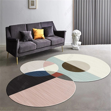 Europe Modern Carpet For Coffee Table Special Irregular Shape Decorative Rugs Floor Nordic Geometric 80X160CM