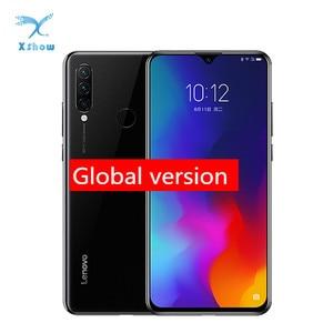 Image 1 - הגלובלי גרסת Lenovo K10 הערה טלפונים סלולריים 6.3 אינץ 2340*1080 4050mAh אחורי מצלמה 16.0MP + 8.0MP + 5.0MP מים זרוק מסך טלפון