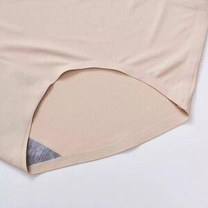 Бесшовные женские трусики 3 шт./лот, Женские однотонные шелковые трусики, женское нижнее белье, женские трусики, женские трусики|Женские трусики|   | АлиЭкспресс