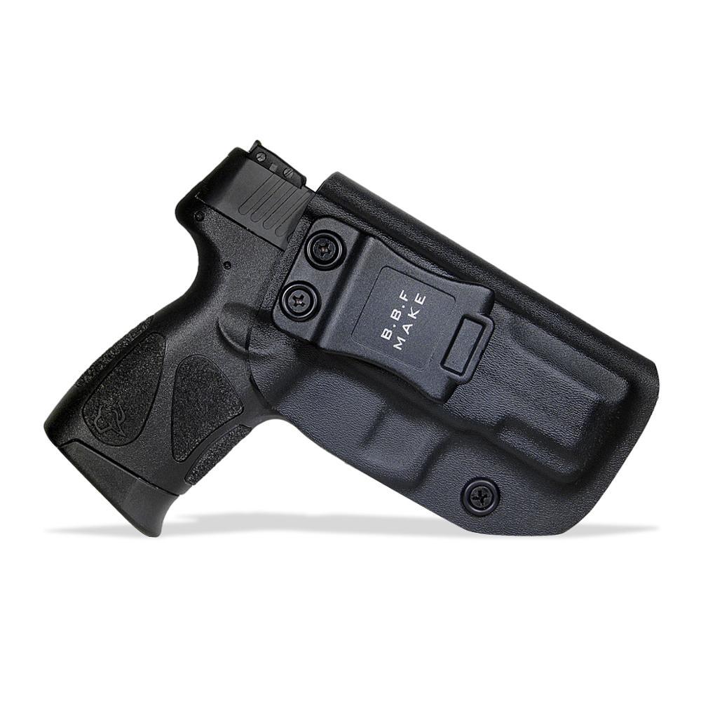 BBF Make IWB KYDEX Gun Holster Fits: Taurus PT111 G2C / PT140 Pistol Case Inside Concealed Carry Guns Pouch Accessories Bags