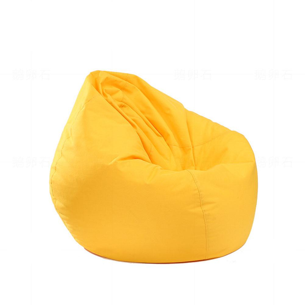 Waterproof Stuffed Animal Storage/Toy Bean Bag Solid Color Oxford Chair Cover Beanbag(filling Is Not Included)
