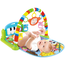 Baby Play Mat Kids Rug Educational Puzzle Carpet With Piano Keyboard And Cute Animal Playmat Baby Gym Crawling Activity Mat Toys cheap luck city Plastic A total of 6 original box sizes LCJS Musical Soft Stuffed Flashing cartoon Keep away from fire A total of 6 sizes of products