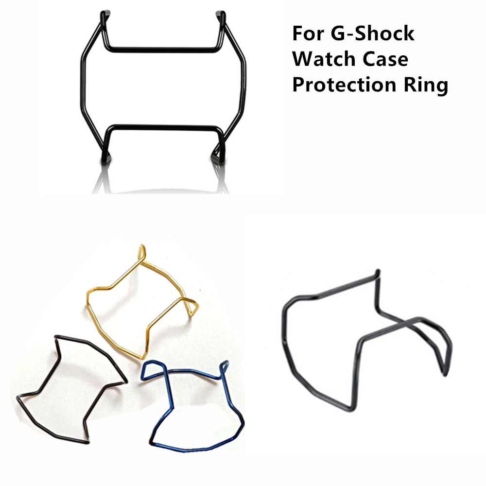 Watch Case Protection Ring Stainless Steel Golden Silver