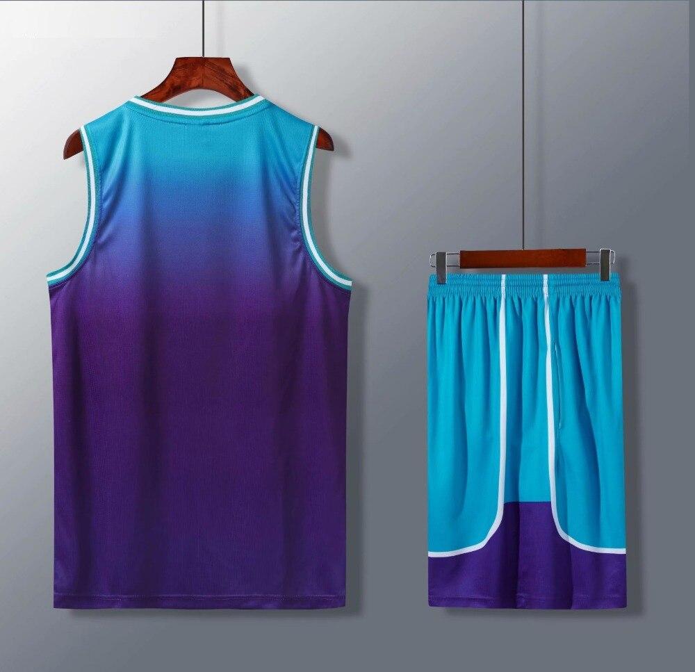 Conjuntos de jérsei de basquete barato personalizado