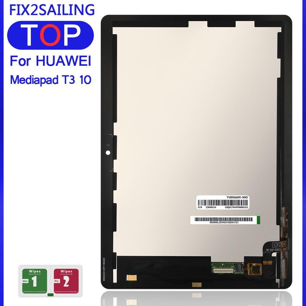 ЖК-дисплей для Huawei Mediapad MediaPad T3 10, 9,6 дюйма, Новый сенсорный экран с цифровым преобразователем в сборе для Huawei Mediapad MediaPad T3, 10, 5, 4, 5, 4, 4, 4, 4, 4, 4, 4, 4, 4...