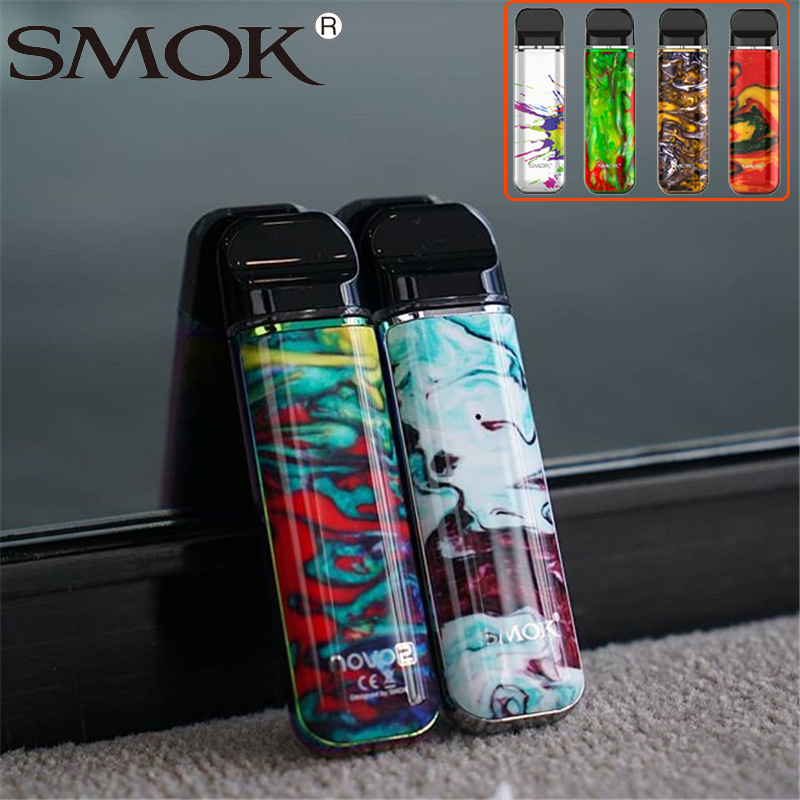 MAIS NOVO cigarro Eletrônico Vape Kit SMOK novo kit 2 2ml Pod pod bateria 800mAh Vaporizador Vape vape atualizado caneta kit vs novo kit