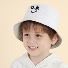 Hat Embroidered Baby-Hat Child Women for And Fisherman-Hat Sunshade Breathable New