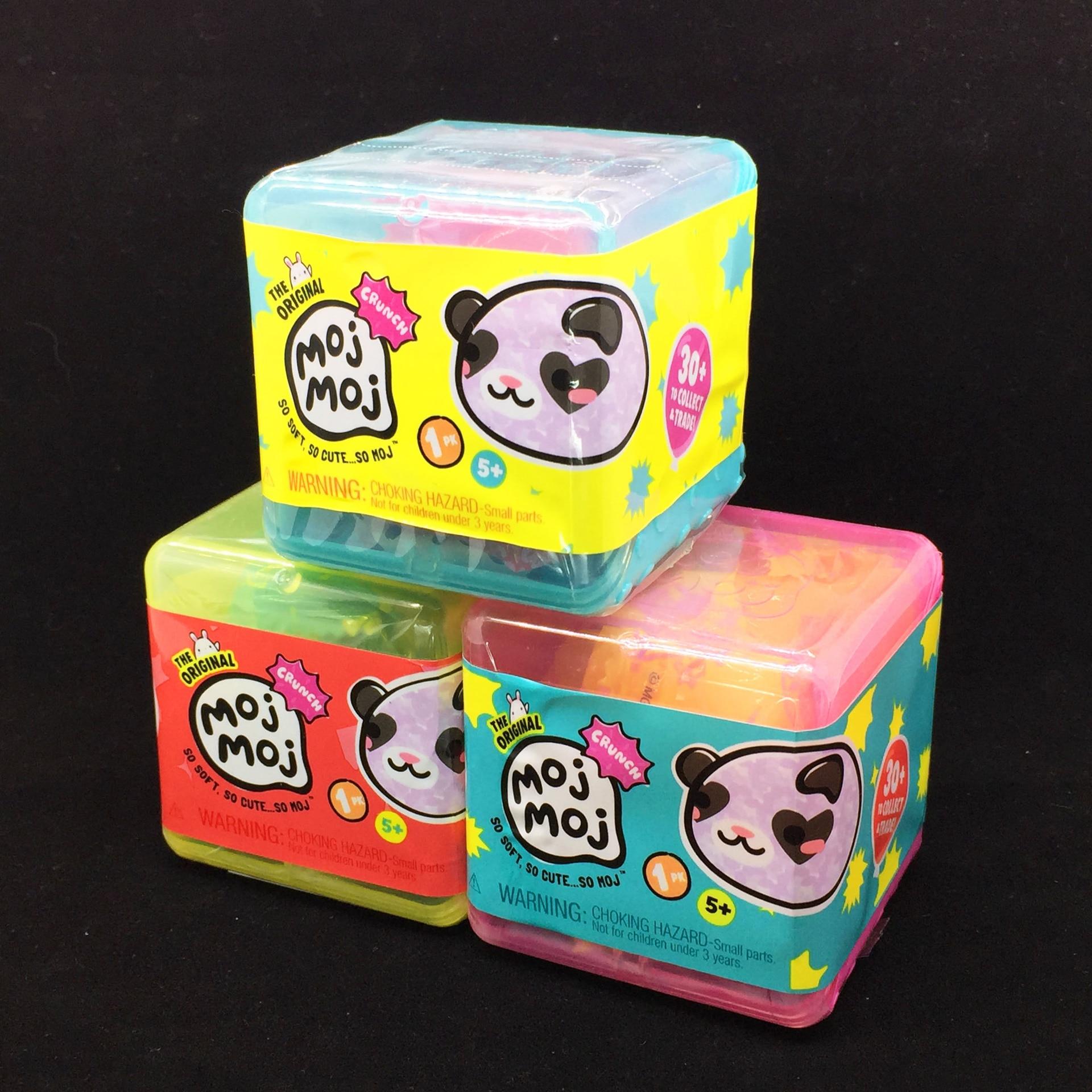 Newest Original Soft Mojmoj Blind Boxes Random Relaxation Toy Blind Eggs Soft Moji Gift For Children