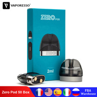 50 Box Original Vaporesso Renova Zero Pod with 2ml Capacity and 1.0ohm Coil Head Tank for Vape Electronic Cigarette Zero Kit