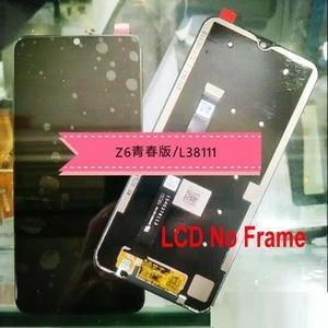 Image 2 - 100% Оригинальный Лучший Черный Полный ЖК дисплей сенсорный экран дигитайзер в сборе датчик + рамка для Lenovo Z6 Lite L38111 стеклянная панель