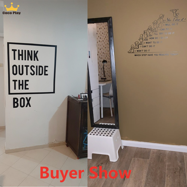 Motivational Large Quote Wall Stickers 2