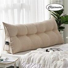 Chpermore عالية الجودة الفاخرة بسيطة السرير وسادة مزدوجة أريكة حصير السرير لينة حقيبة السرير القابلة للإزالة وسادة للنوم