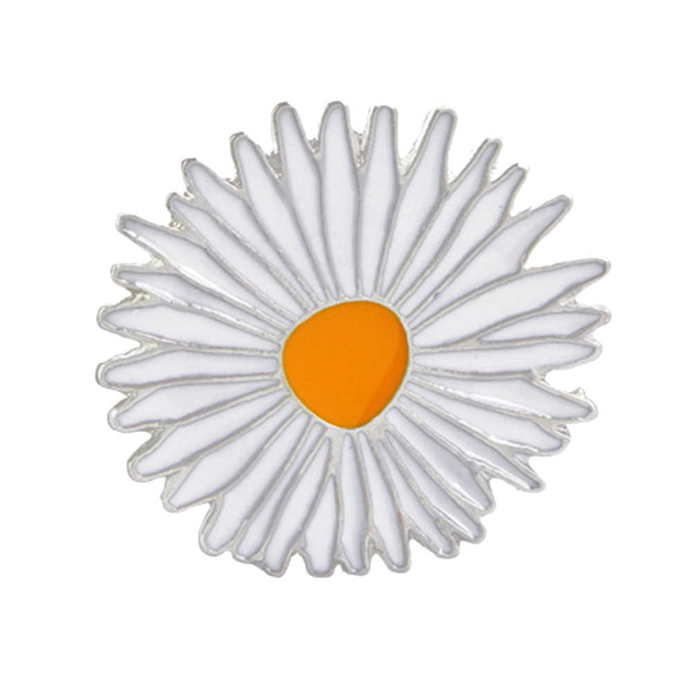 Unisex Bros Pin Semangka Bunga Matahari Jantung Perhiasan Lencana Jaket Denim Kerah Enamel Bros Pin Aksesoris Bros untuk Wanita