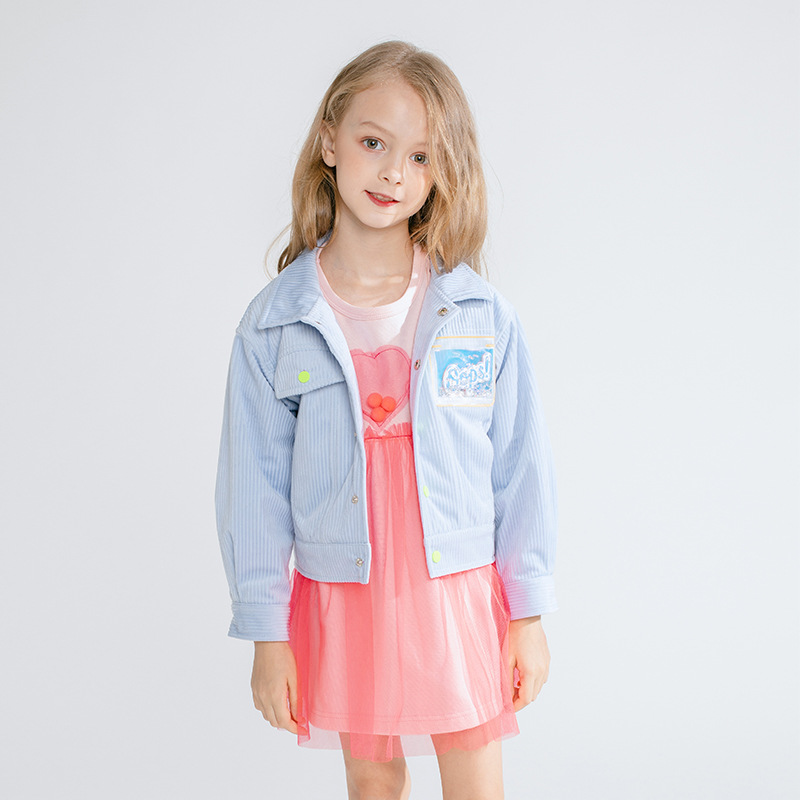 Girls Outerwear Fall and Winter 2019 New Korean Edition Jacket Childrens  girl winter clothes kids jackets for girls
