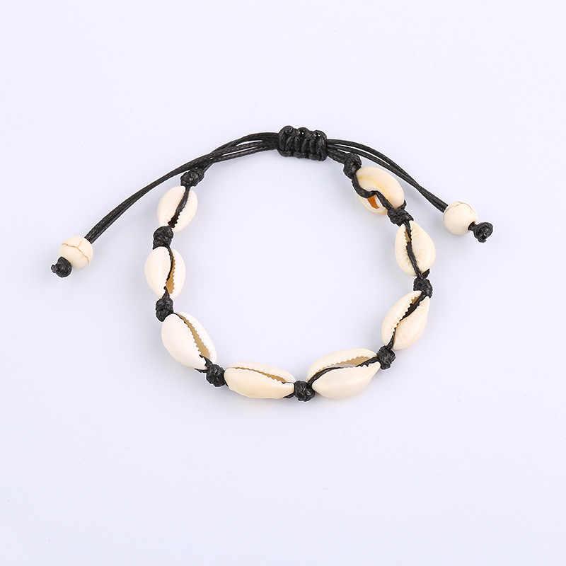 Obrączki dla kobiet powłoki Foot biżuteria lato plaża Barefoot bransoletka kostki na nogi kostki pasek czeski akcesoria powłoki obrączki