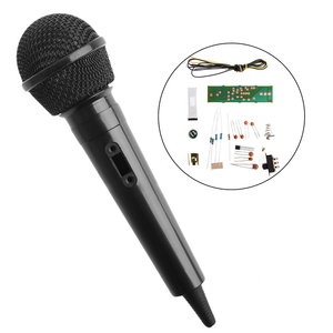 Image 2 - 1 Set New FM Frequency Modulation Wireless Microphone Suite Electronic Teaching DIY Kits