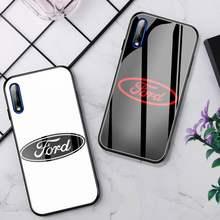 Funda de teléfono de lujo para Ford S, cristal para Huawei P30 Lite 20 Por P9 10 Honor 8X9 10 NOVA 5