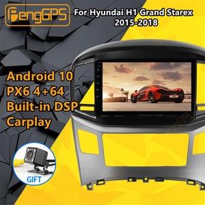 For Hyundai H1 Grand Starex 2015 2016 -2018 Car multimedia player Stereo IPS Screen Android PX6 Radio Audio GPS Nav Head unit BT